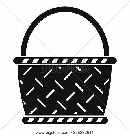 Wicker Icon. Simple Illustration Of Wicker Vector Icon For Web Design Isolated On White Background