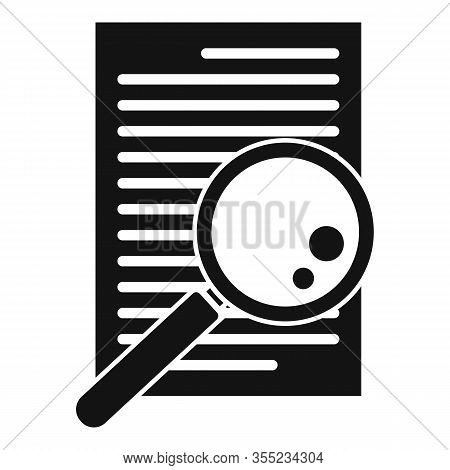 Paper Office Request Icon. Simple Illustration Of Paper Office Request Vector Icon For Web Design Is