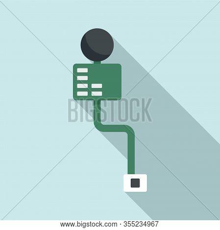 Cellular Phone Piece Icon. Flat Illustration Of Cellular Phone Piece Vector Icon For Web Design