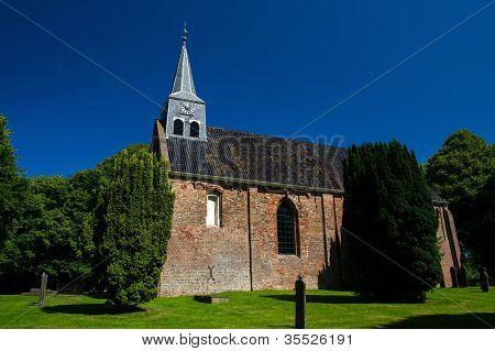 Andreaschurch in wierde village Westeremden
