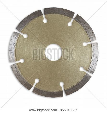 Isolate Concrete Cutting Disc With Inner Hole Red Brown Steel Grinding Wheels Circular Saw Blades Ha