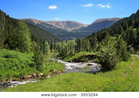 Vall De Ransol (Andorra)
