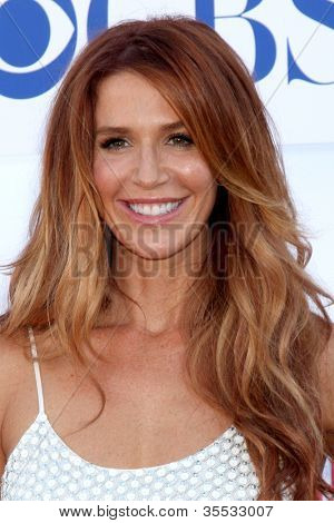 LOS ANGELES - JUL 29:  Poppy Montgomery arrives at the CBS, CW, and Showtime 2012 Summer TCA party at Beverly Hilton Hotel Adjacent Parking Lot on July 29, 2012 in Beverly Hills, CA