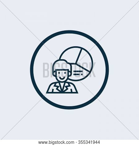 Profit Icon Isolated On White Background From Recruitment Collection. Profit Icon Trendy And Modern