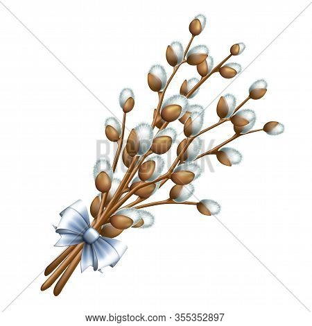 Easter Bouquet From Twigs Easter Blossom Willow Tree