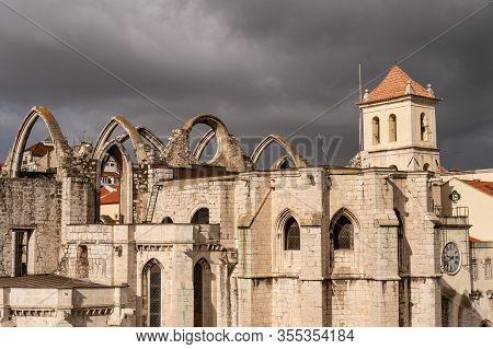 Picture Of Convento Do Carmo In Lisbon, Portugal