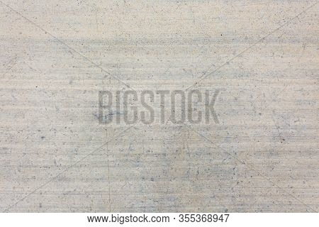 Close Up Shot Of A Concrete Texture Background With Horizontal Lines. Great Concrete Background For