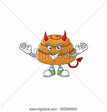 Cartoon Picture Of Kanelbulle In Devil Cartoon Character Design