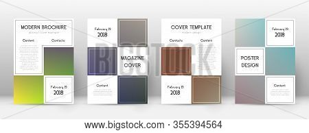 Flyer Layout. Business Decent Template For Brochure, Annual Report, Magazine, Poster, Corporate Pres