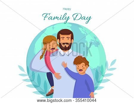 Happy International Family Day. Family Day. Family Day background. Family Day poster. Family Day illustration. Family Day banners. Family day Vectors. Family Day Vector Illustration. International Family Day template.