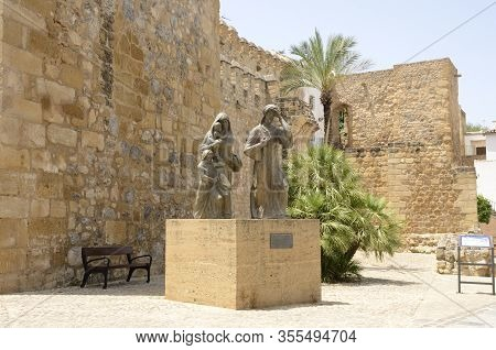 Sculpture Dedicated To Antequera Muslims