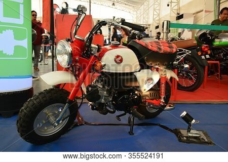 Pasig, Ph - Mar. 7: Honda Monkey Motorcycle At 2nd Ride Ph On March 7, 2020 In Pasig, Philippines. R