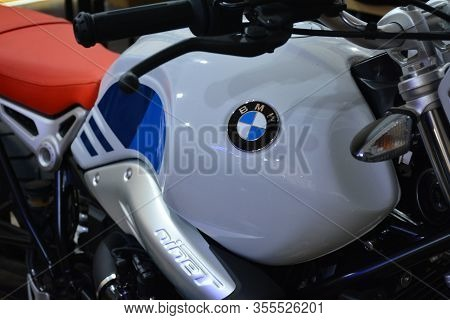 Pasig, Ph - Mar. 7: Bmw R Nine T Urban Motorcycle At 2nd Ride Ph On March 7, 2020 In Pasig, Philippi