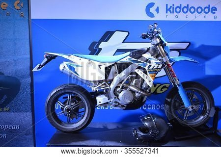 Pasig, Ph - Mar. 7: Tm Racing Motorcycle At 2nd Ride Ph On March 7, 2020 In Pasig, Philippines. Ride