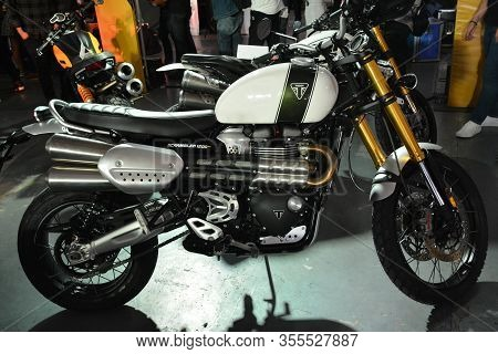 Pasig, Ph - Mar. 7: Triumph Motorcycle At 2nd Ride Ph On March 7, 2020 In Pasig, Philippines. Ride P