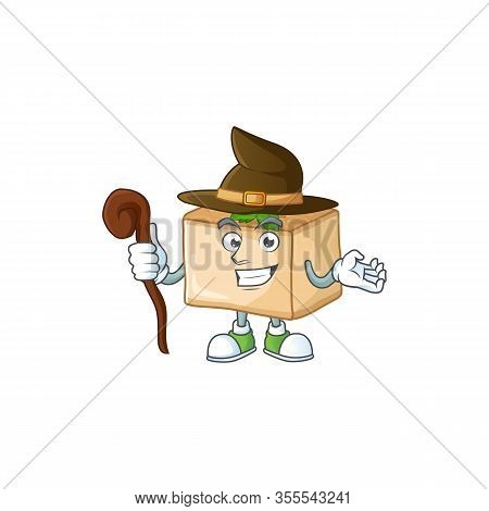 Sweet And Tricky Witch Basbousa Cartoon Character