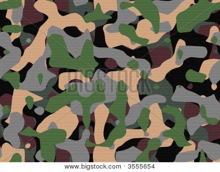 Textured Camouflage Pattern