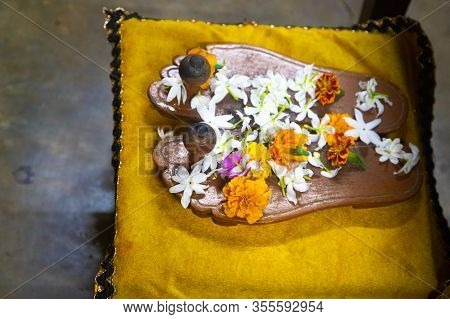 Guru Purnima Is A Nepalese And Indian Festival Dedicated To Spiritual And Academic Teachers. Authent