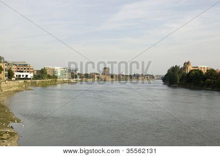 River Thames at Hammersmith