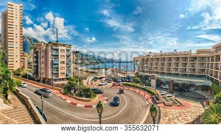 Monte Carlo, Monaco - August 13:  The Fairmont Hairpin Or Loews Curve, One Of The Most Famous Sectio