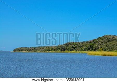 The Gtm Research Reserve Wildlife Refuge In St Johns County, Florida.