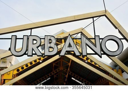 Bangkok, Th - Dec 12: Urbano Signage At Asiatique The Riverfront On December 12, 2016 In Bangkok, Th