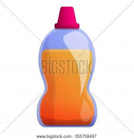 Sanitary Gel Bottle Icon. Cartoon Of Sanitary Gel Bottle Vector Icon For Web Design Isolated On Whit