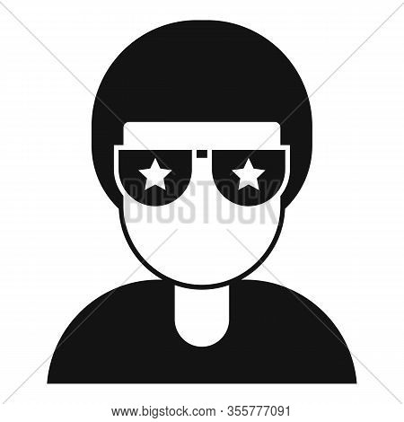 Famous Person Icon. Simple Illustration Of Famous Person Vector Icon For Web Design Isolated On Whit