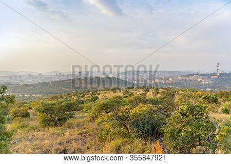 Pretoria Skyline Taken From Voortrekker Monument, South Africa