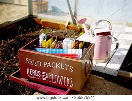 Grow Tour  Own Self  Sufficiency   Vegetables And Seeds