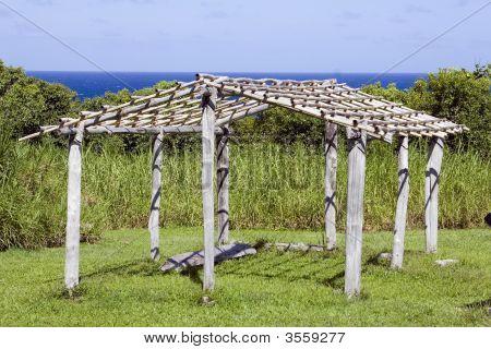 Hawaiian Hut Frame