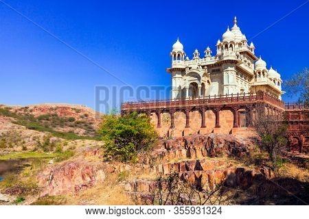 Travel and landmarks of Rajastan - Jaswant Thada temple, Jodhpur town