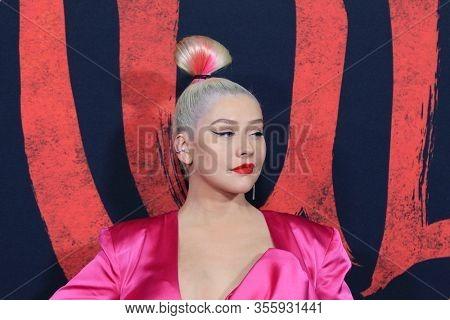 LOS ANGELES - MAR 9:  Christina Aguilera at the
