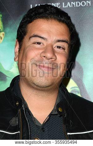 LOS ANGELES - FEB 7:  Randy Martinez at the