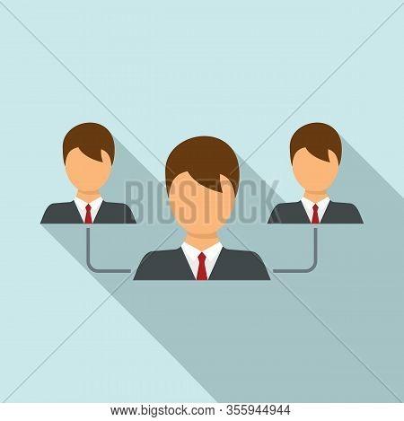 Customer Relationship Icon. Flat Illustration Of Customer Relationship Vector Icon For Web Design