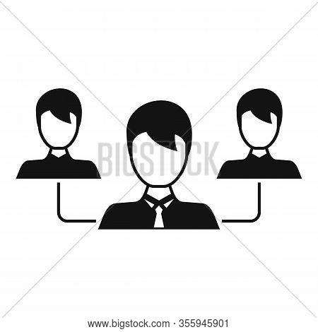 Customer Relationship Icon. Simple Illustration Of Customer Relationship Vector Icon For Web Design