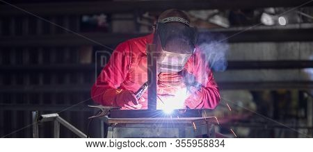 Performing Welding Operations In The Production Room