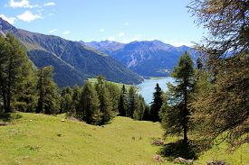 The Beautiful Mountain Landscape Of The Resia Valley Between The Friuli Alps In Italy 010