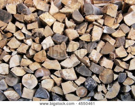 Wood Cord Background