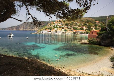 Assos Village In Kefalonia