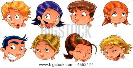 Expressions Of Children