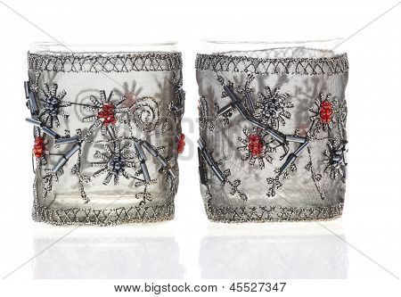 Decorated Celebration Glasses