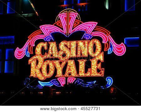 Las Vegas Nv - June 05 Hotel Casino Royale On June 27, 2005 In Las Vegas, Usa. Casino Royale Is The