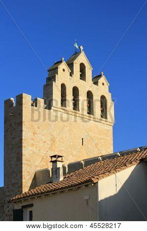 Church Of Saintes-Maries-de-la-mer, France