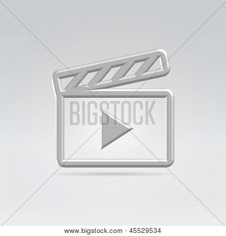Computer Icon Metaphor For Video