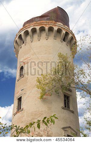 Abandoned Water Pump Tower In Korosten, Ukraine
