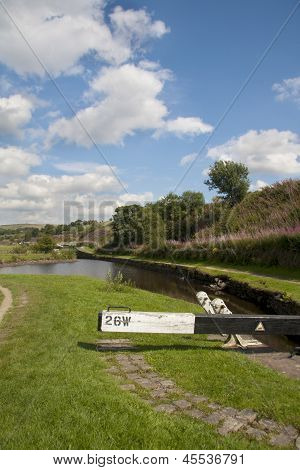 Lock 26 On The Huddersfield Narrow Canal