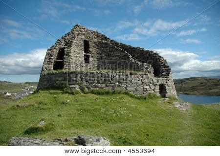 Ancient Broch, Scotland.