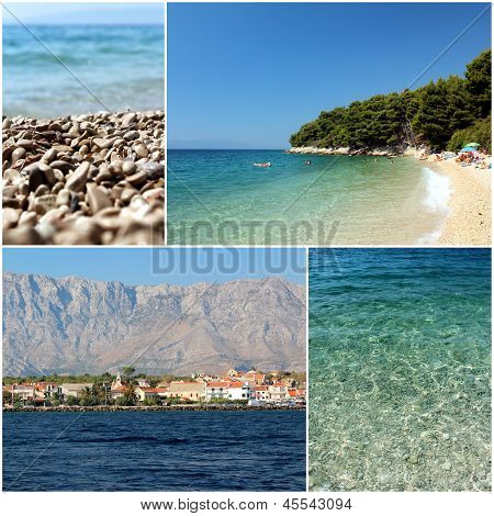 Mediterranean Sea Dalmatia Islands Photo Set