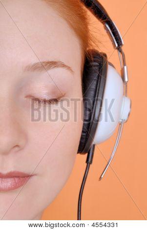 The Woman In Headphones